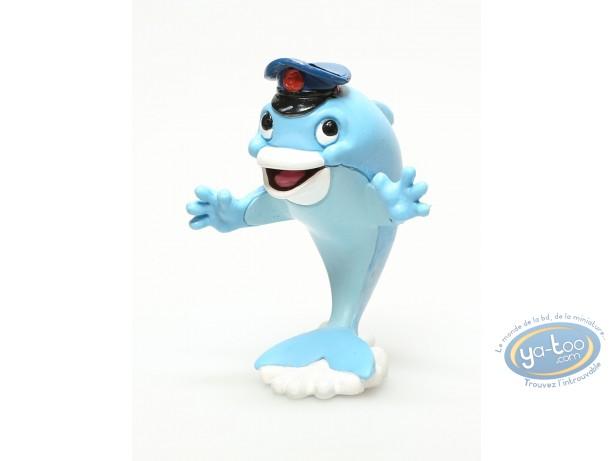 Plastic Figurine, Delfy le Requin : Plastic figure, Delfy the Shark : Dolfin