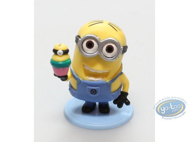 Plastic Figurine, Minions (Les) : Minion with Cupcake