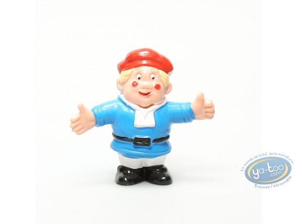 Plastic Figurine, Lutins (Les) : Plastic figure, Leprechaun : Blue Leprechaun