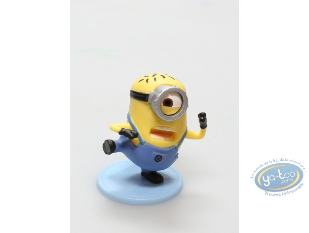 Plastic Figurine, Minions (Les) : Minion Carl