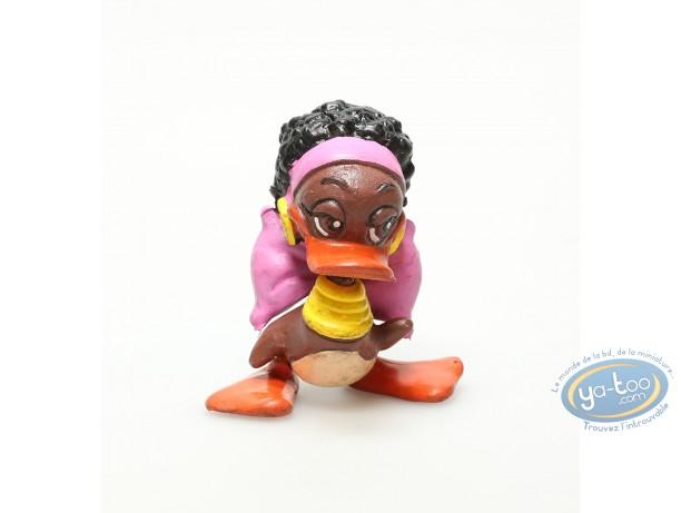Plastic Figurine, Alfred le canard : Jasmine
