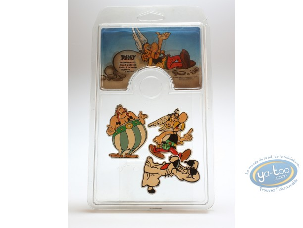 Fashion and beauty, Astérix : Set of 3 spindles Asterix, Obelix and Idefix