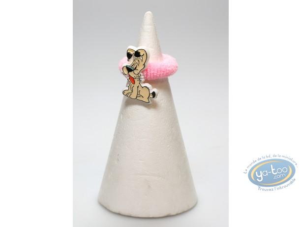 Fashion and beauty, Astérix : Pink elastic hair Idefix
