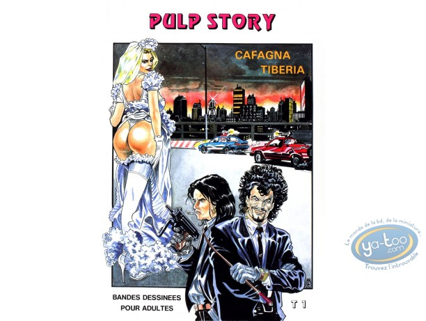 Adult European Comic Books, Pulp story