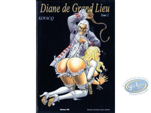 Adult European Comic Books, Diane de Grand Lieu : Diane de Grand Lieu