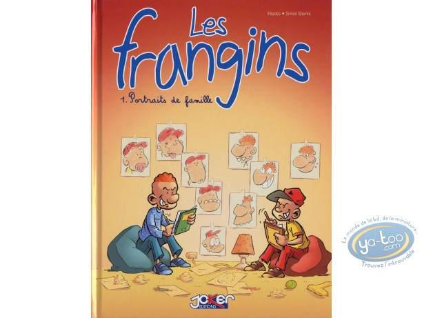 Reduced price European comic books, Frangins (Les) : Portraits de famille