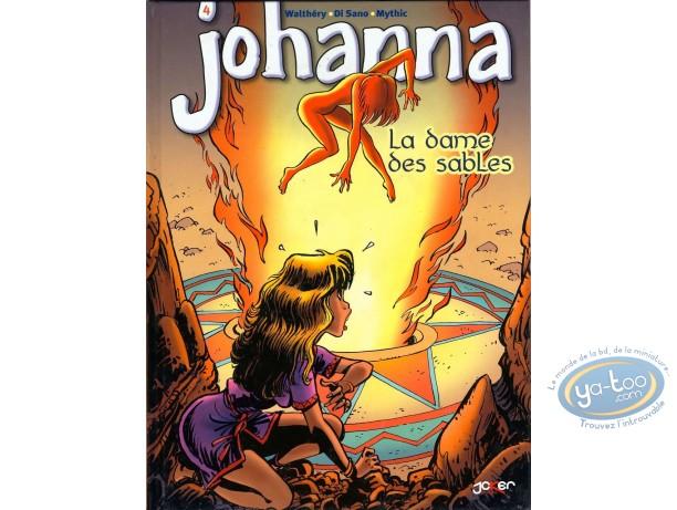 Reduced price European comic books, Johanna : La dame des sables