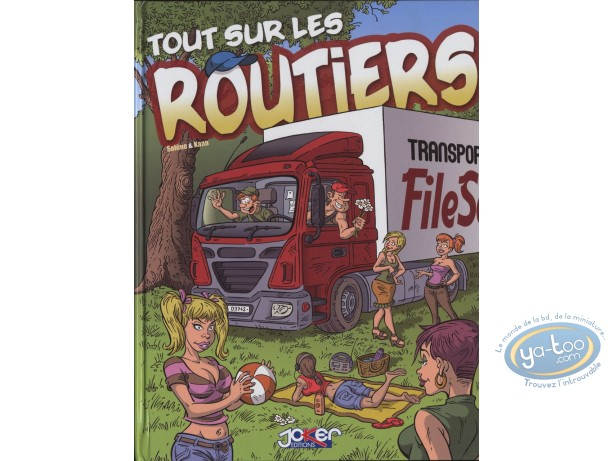 Reduced price European comic books, Tout sur … : Tout sur ... Les routiers