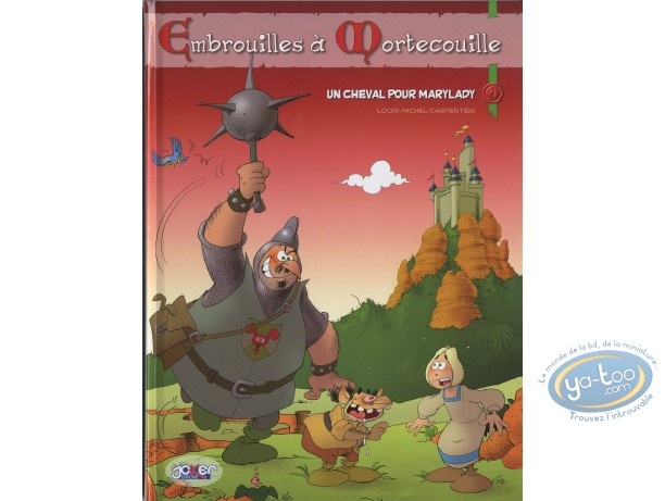 Reduced price European comic books, Ambrouilles à Mortecouille : Un cheval pour Marrylady