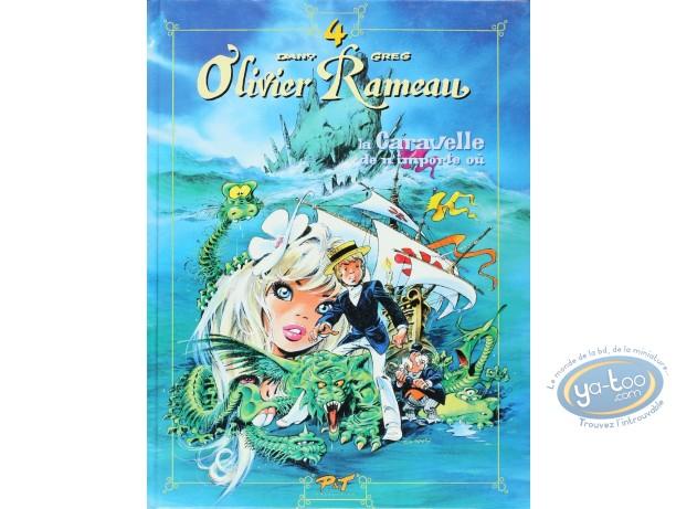 Reduced price European comic books, Olivier Rameau : La caravelle de n'importe où