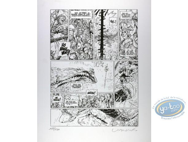 Offset Print, Quête de l'Oiseau du Temps (La) : page 33