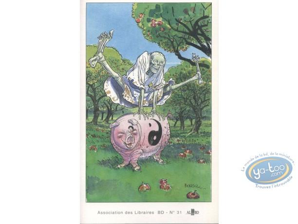 Bookplate Offset, Aventures de la mort et de Lao-Tseu (Les) : Playing