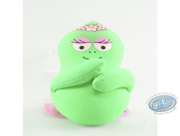 Deco, Barbapapa : Pillow Barbamama green 10cm