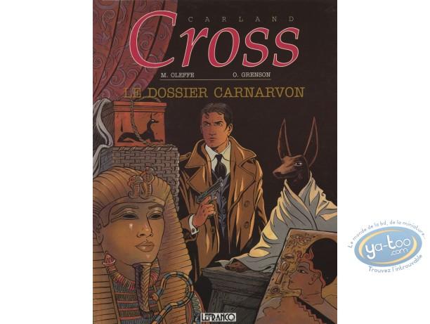 Used European Comic Books, Carland Cross : Le Dossier Carnarvon