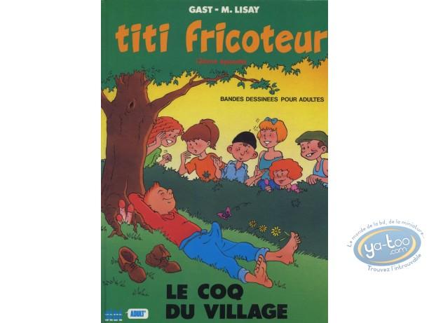 Adult European Comic Books, Titi Fricoteur : Titi fricoteur