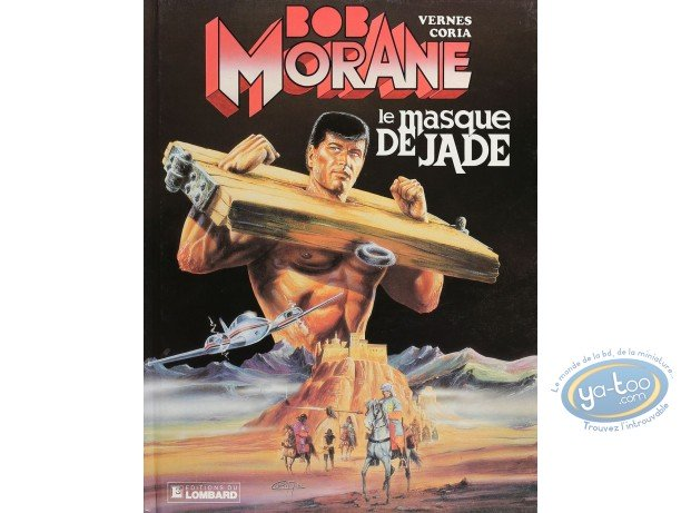 Listed European Comic Books, Bob Morane : Le masque de jade (very good condition)