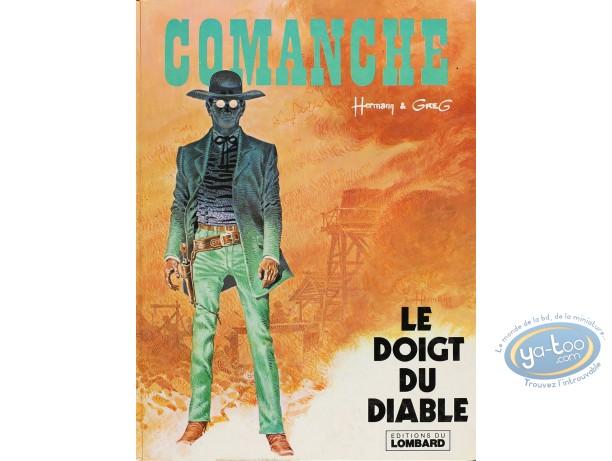 Listed European Comic Books, Comanche : Le Doigt du Diable (good condition)
