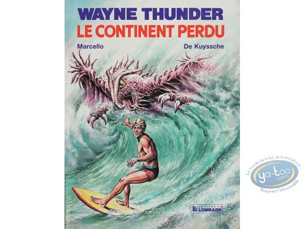 Used European Comic Books, Wayne Thunder : Le continent perdu