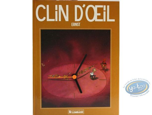 Clocks & Watches, Clin d'oeil : Clock, Clin D'oeil : Brown