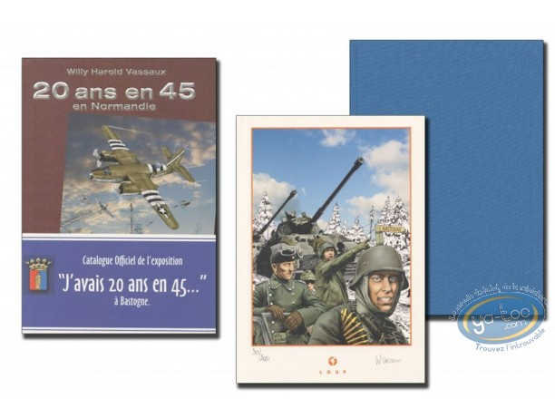 Limited First Edition, 20 ans en 45 : J'avais 20 ans en 45' (light blue)