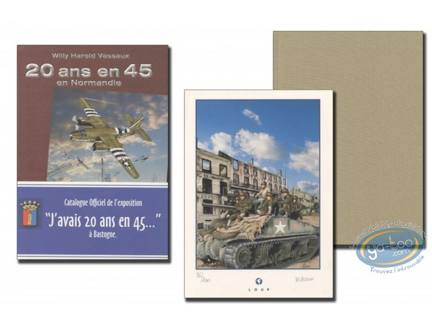 Limited First Edition, 20 ans en 45 : J'avais 20 ans en 45' (beige)