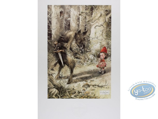 Offset Print, The red riding hood