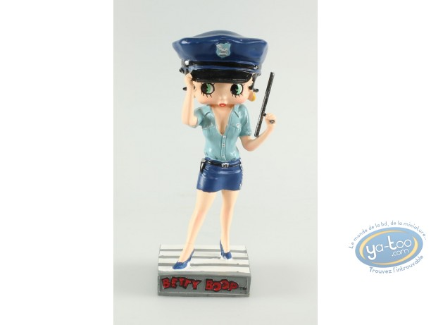 Resin Statuette, Betty Boop : Betty Boop Police officer