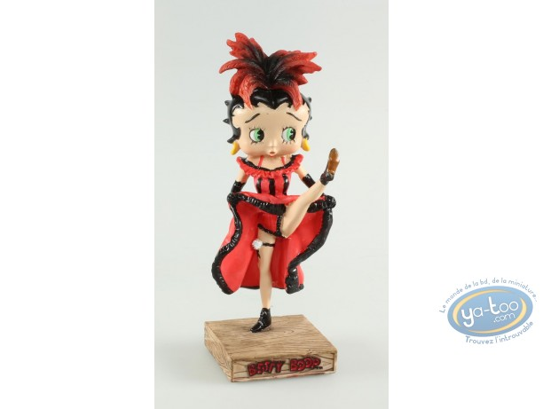Resin Statuette, Betty Boop : Betty Boop Dancer French cancan