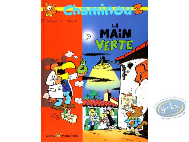 Used European Comic Books, Chaminou : La main verte