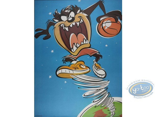 Offset Print, Taz : Devil's Basket 80X60 cm