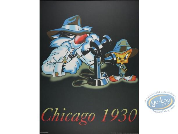 Offset Print, Titi : Chicago 1930 80X60 cm