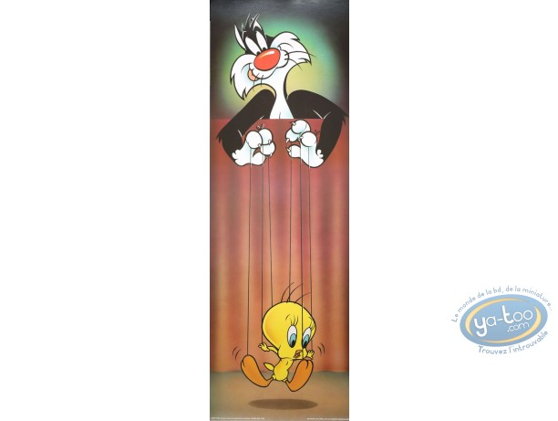 Offset Print, Titi : Tweety on the strings 90X30 cm