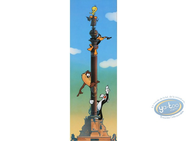 Offset Print, Looney Tunes (Les) : Follow me 45X15 cm