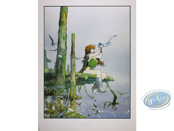Offset Print, Quête de l'Oiseau du Temps (La) : Pelisse & the Fourreux