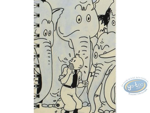 Notebook, Tintin : Notebook, Tintin : Cigars of the Pharaoh