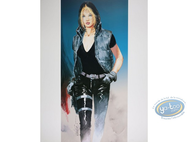 Offset Print, XIII : Jessica Walking