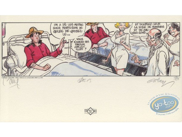 Bookplate Offset, Space Mounties : Space Mounties