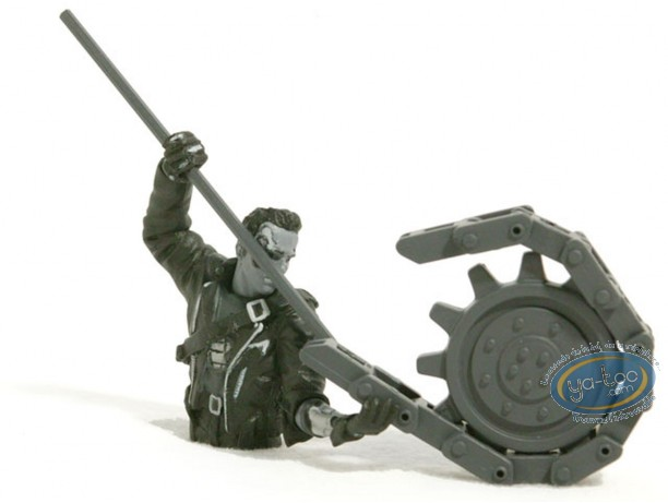 Plastic Figurine, Terminator : Broken hand (b&w)
