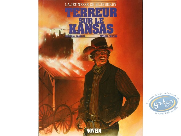 Listed European Comic Books, Jeunesse de Blueberry (La) : Terreur sur le Kansas