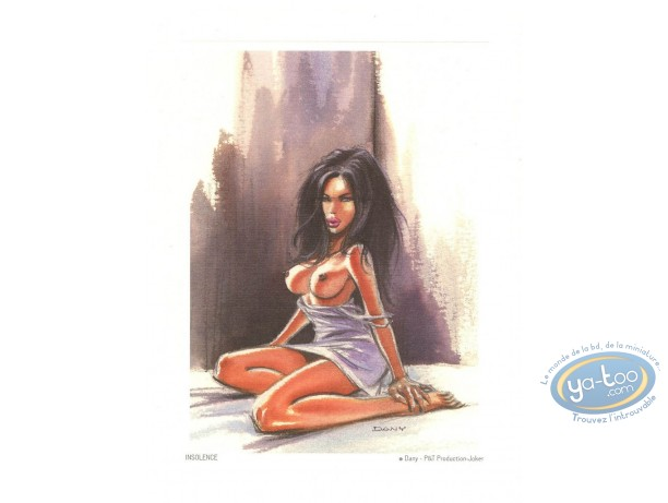 Offset Print, Pin-Up : Insolence