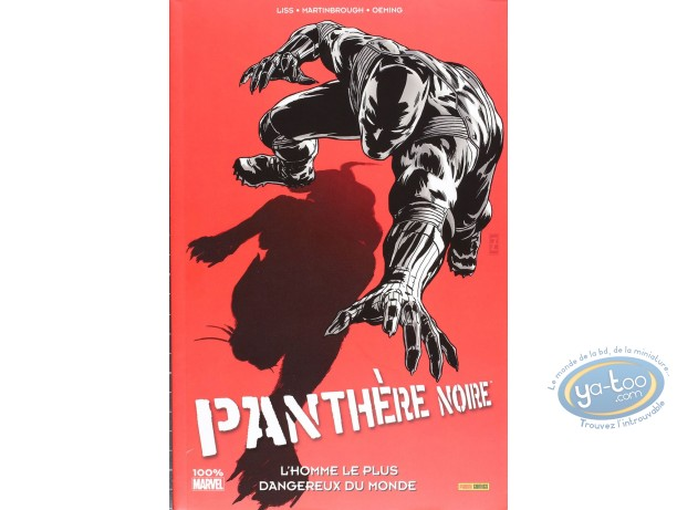 European Comic Books, Panthère Noire : L'homme le plus dangereux du monde