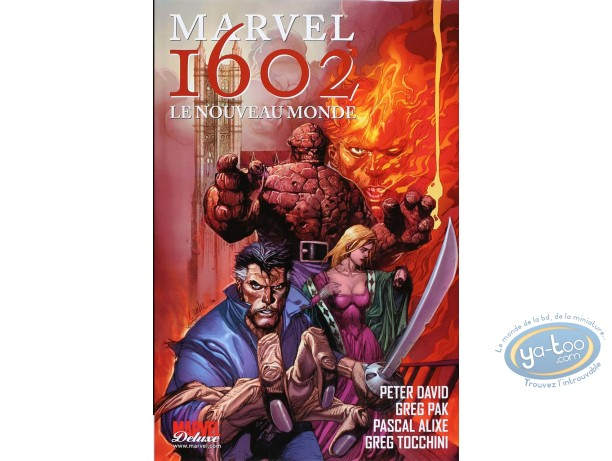 European Comic Books, Marvel 1602 : Le Nouveau Monde