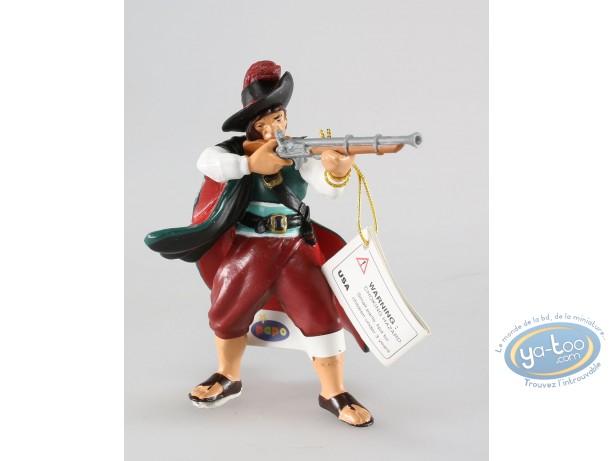Plastic Figurine, Pirates : Corsair with musket
