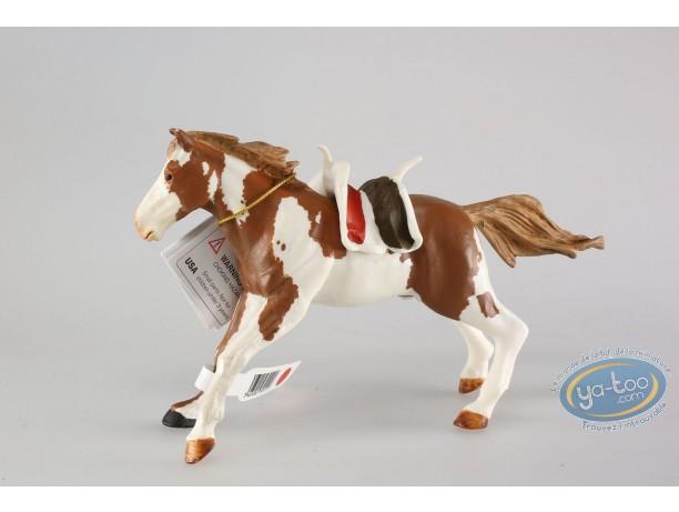 Plastic Figurine,  : Indian's horse