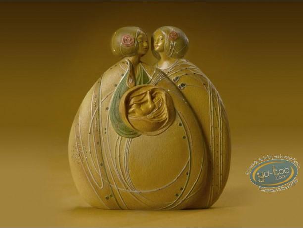Resin Statuette, Tableaux en 3D : Mackintosh - The Heart of the Rose