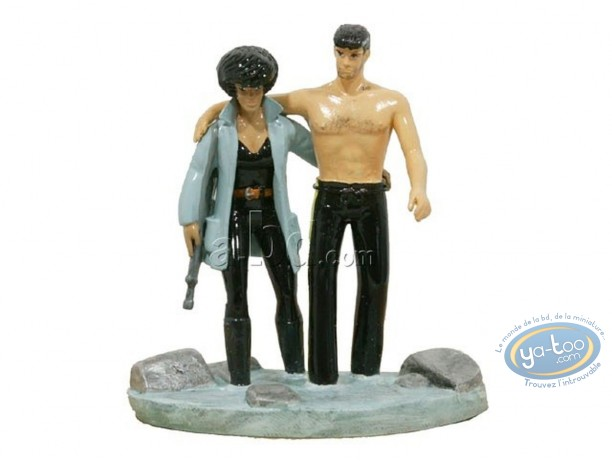 Metal Figurine, XIII : XIII & major Jones, Pixi