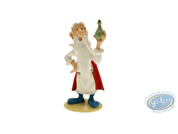 Metal Figurine, Astérix : Origin : Getafix with magic potion