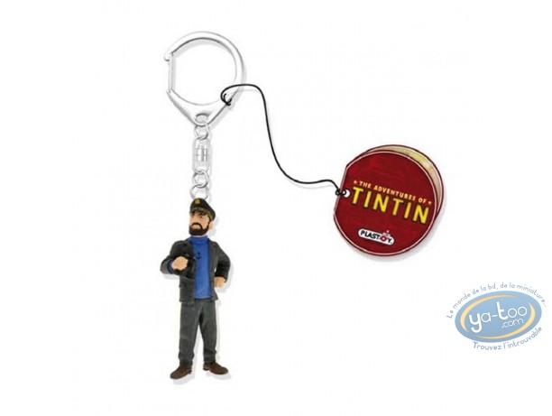 PVC Keyring, Tintin : Keychain, Tintin the movie : Captain Haddock