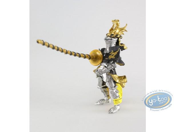 Plastic Figurine, Knight crest black dragon