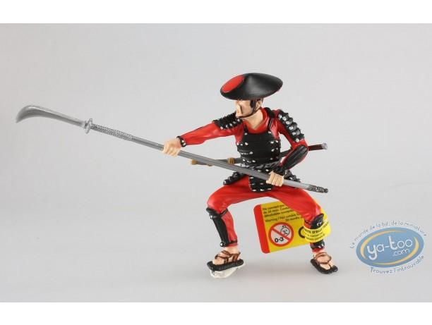 Plastic Figurine, Samouraï : Samuraï withspear